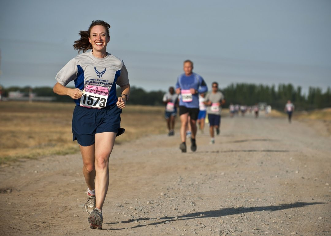 Woman Running Final Mile Continuous Delivery-pipeline