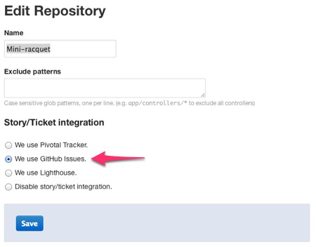 GitHub Issues integration