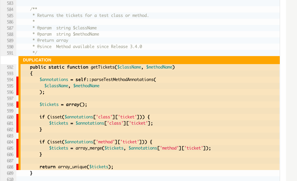 PHP Duplication